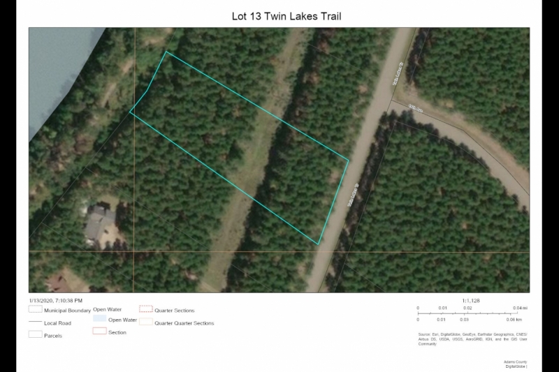 Aerial Map2 Lot 13 Twin Lks Tr