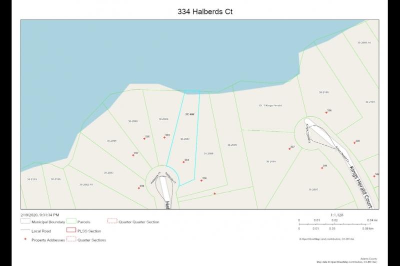 334 Halberds Ct Parcel map