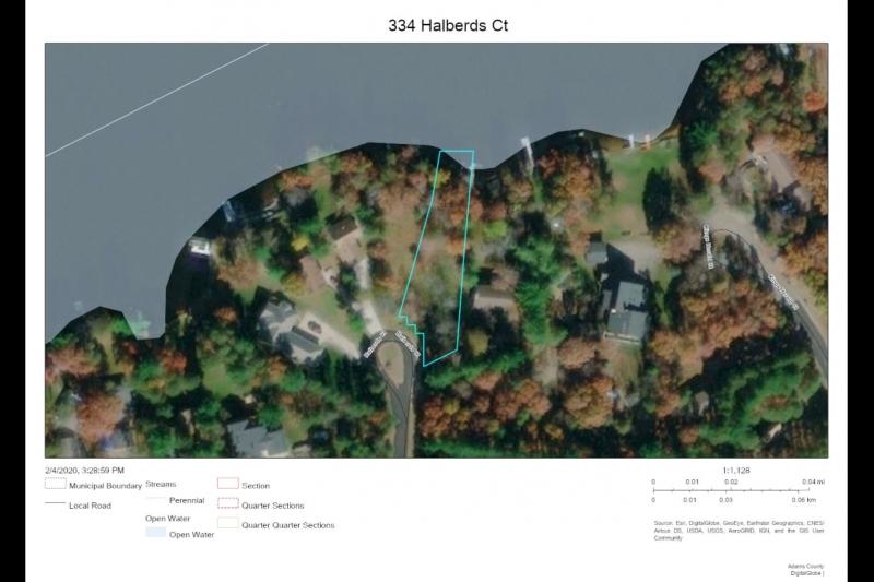 OPEN WATER map 334 Halberds Ct