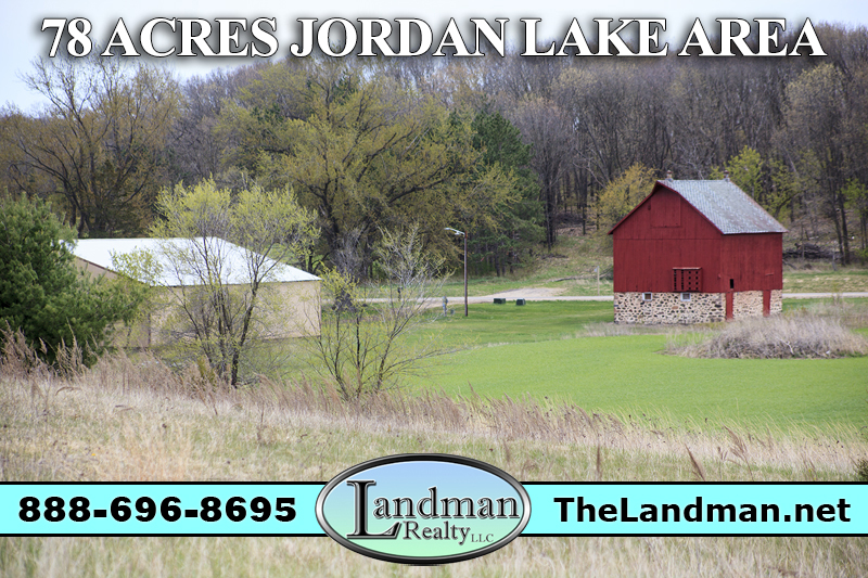 Wisconsin Farmland for Sale with Barn and Pole Shed 78 Acres