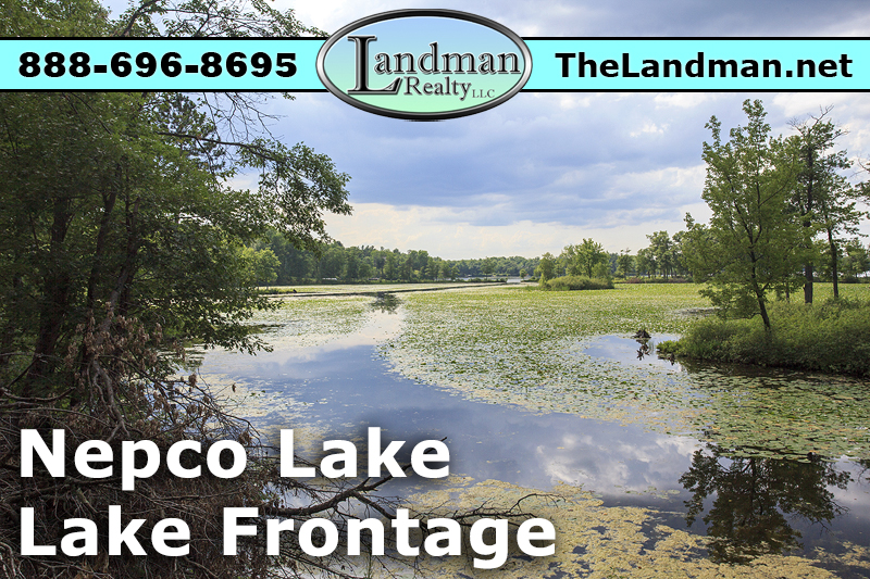 Lakefront Condo Lot for Sale on Nepco Lake WI