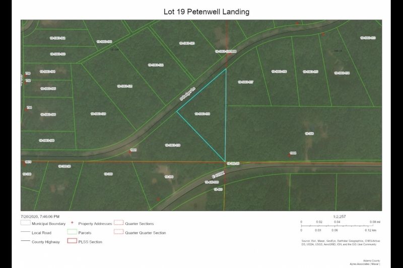 Lot 19 Petenwell Landing Aerial Map