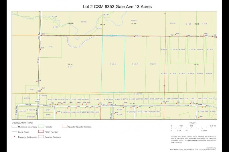 Parcel Map Lot 2 CSM 6353 Gale Av