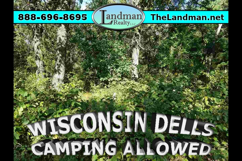 Wisconsin Dells Camping or Building Site for Sale