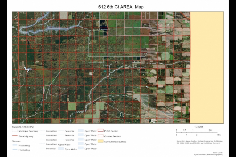 AREA Map 612 6th Ct