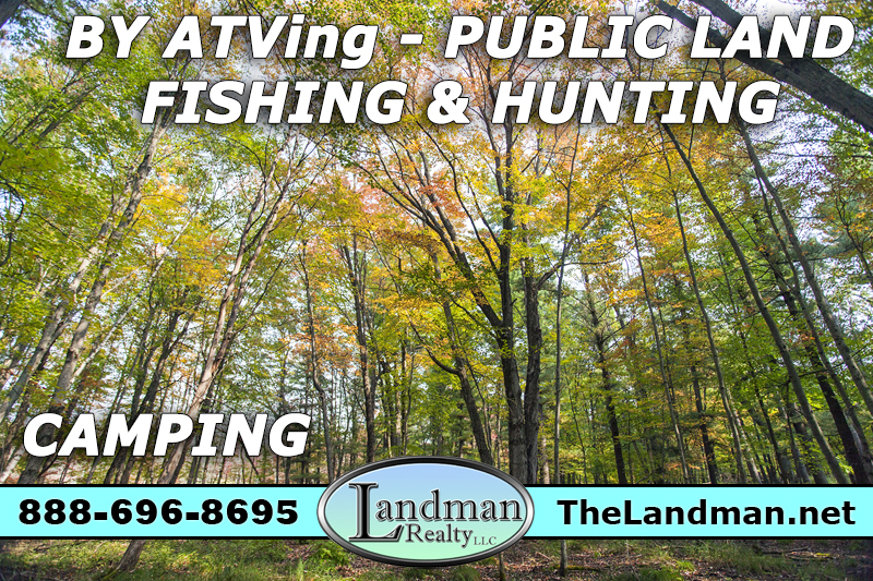 Central Wisconsin Camping Property for Sale 1.9 Acre Land