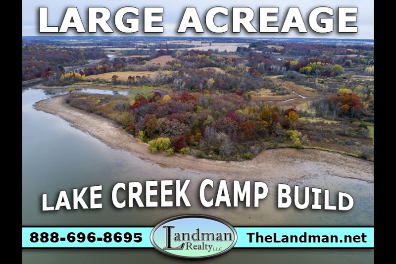 WI Waterfront Acreage for Sale Lake Creek Camp or Build