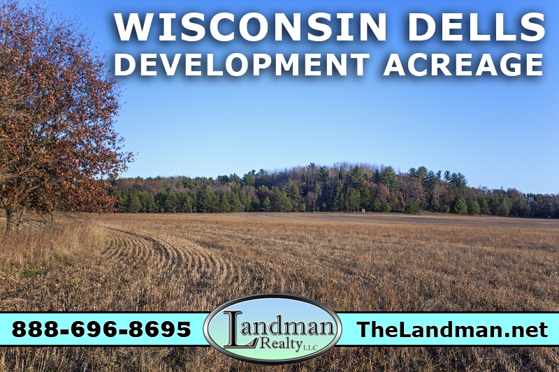 Wisconsin Dells Buildable Large Acreage for Sale