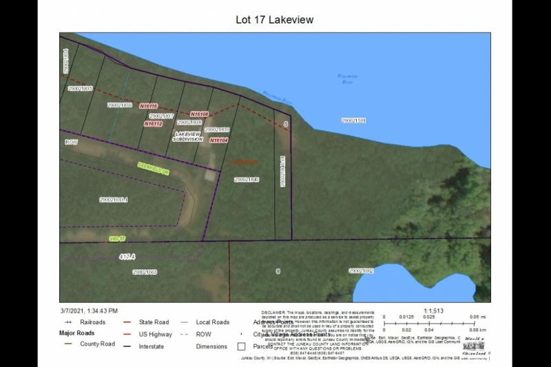 Lot 17 Lakeview Aerial