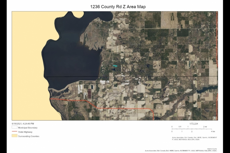 AREA Map 1236 Cty Rd Z