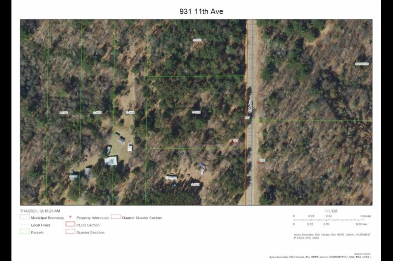 Aerial Map 931 11th Ave
