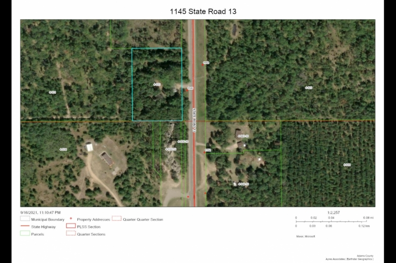 Aerial map 1145 STH 13