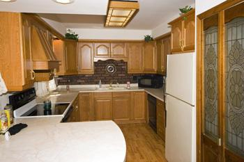 Spacious Kitchen W/ Lots Of Storage Space