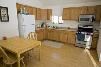 Large Eat-In Kitchen for convenient dining