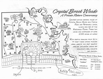 Crystal Brook Woods Layout Map
