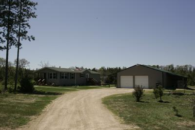 2 Bedroom Home For Sale on 5 Secluded Acres!