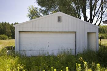 2 Car Detached Garage On Central Wisconsin Farm For Sale!