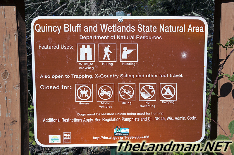Quincy Bluff and Wetlands State Natural Area