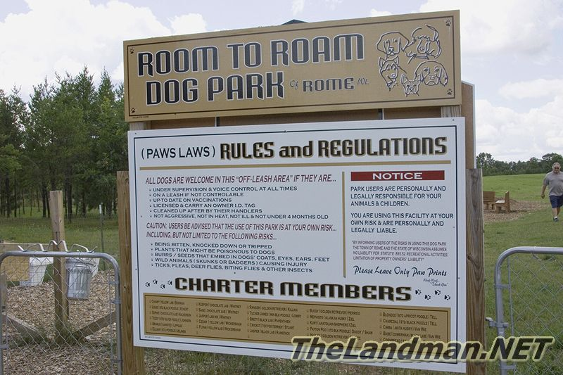 Room To Roam Dog Park or Rome WI